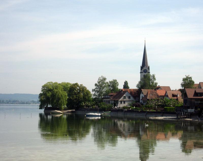 Fahrradtour um den Untersee auf dem Bodensee Radweg